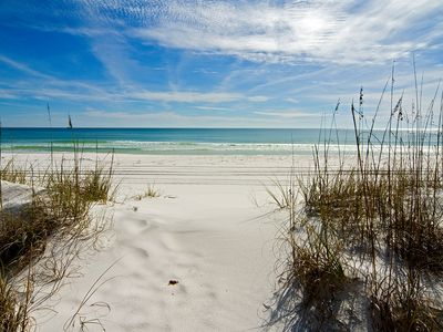 Photo for Best Gulf-Front Beach View in Destin!  Best designed condo 2015*