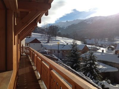 Photo for CHALET SAUNA AND BATH Beautiful Services NORDIC Label Méribel - Meribel