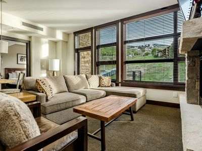 Photo for Premier Lodging at Base of Snowmass.  Air Conditioning, Free Parking, Balcony, Walk to Restaurants.