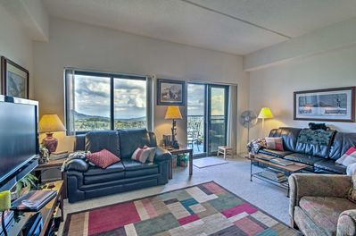 Spread out across 1,100 square feet of well-appointed living space.