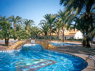 Photo for 2 bedroom Apartment, sleeps 4 in Las Bovetes with Pool, Air Con and WiFi
