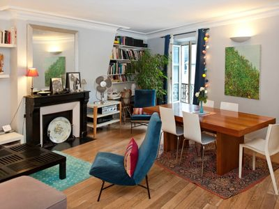 Spacious and charming one bedroom (for up to four people) apartment in the 6th arrondissement of Par