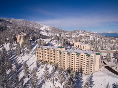 Photo for New Year 2 br/2 bath (Dec. 30 th - Jan 3rd) at Lake Tahoe overlooking Heavenly.