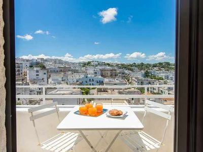 Photo for amazing panoramic TERRACE - free parking at 200 m - Quiet place - City view