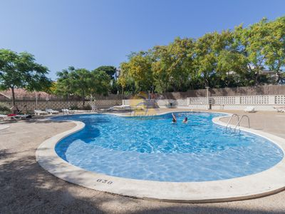 Photo for Nice apartment 6 pax with A / C and pool in the tourist center of Salou.