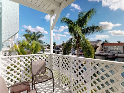 Photo for NEW LISTING! Comfortable and dog-friendly condo with shared pool/hot tub/tennis!