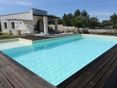 Photo for HOUSE WITH GARDEN AND POOL USE ONLY IN Salento, Otranto, Lecce