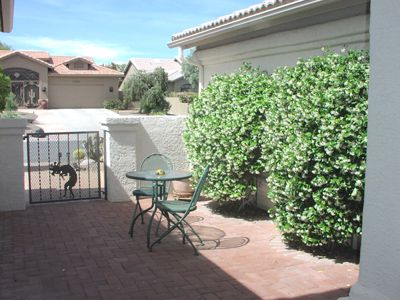 Your Private Courtyard & Entrance to Casita
