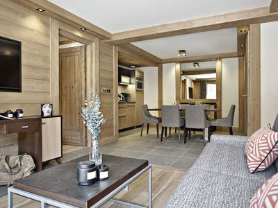 Photo for Very luxurious residence with spa, near the pistes in family-friendly Valmore