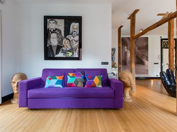 Luxury Loft 70meters. Families and friends! Historical center Madrid WONDERFUL!