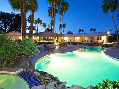 Photo for Hollywood Celebrity Estate: 8 BR / 10 BA home in Rancho Mirage, Sleeps 16