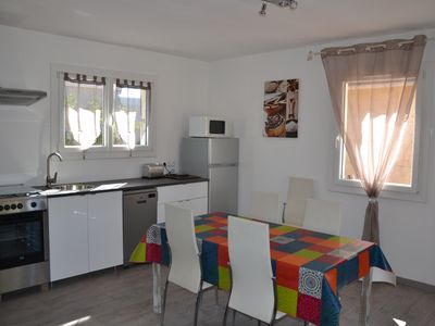 Photo for Rent gite with fenced terasse in Vallon Pont d'Arc