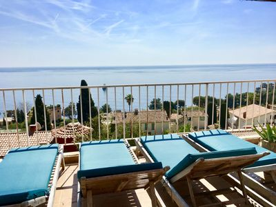 Photo for Family Friendly Villa With Panoramic Views and Heated Swim Spa