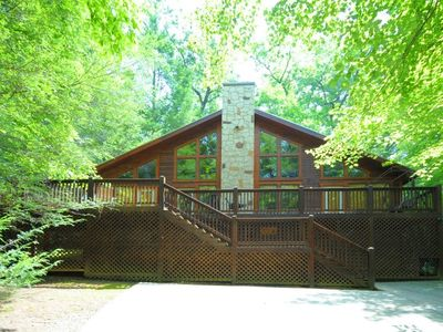 Discover this gorgeous,Gatlinburg cabin with 2 BR/2BA each with separate Jacuzzi tub. no pets!