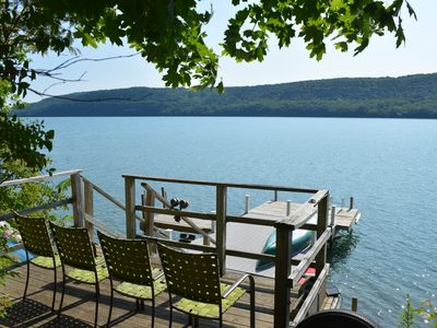 Photo for Two homes! Large Lake Property in Coop w/ Pool & Dock!