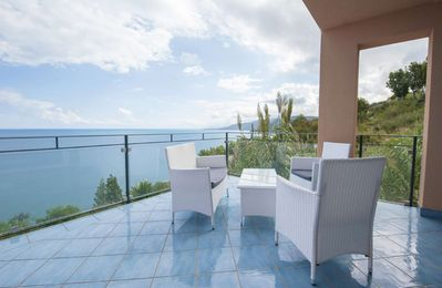 Photo for Fabulous sea view apartment in residence with marvelous infinity pool