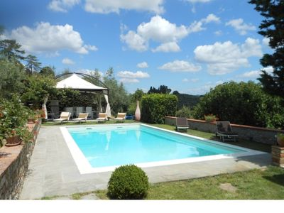 Photo for Elegant country house between Florence and Siena  for 8 people with swimming pool AC and wifi
