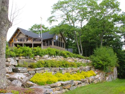Photo for Spectacular expansive Water Views on Boothbay Peninsula