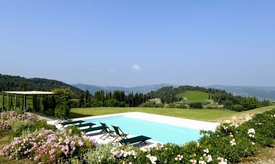 Photo for Sparkling 4 bedroom Villa in Greve in Chianti (Q6767)