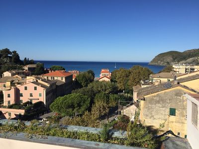 Photo for Penthouse with large terrace near the Cinque Terre