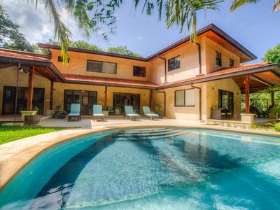 Photo for Brand New Luxury Home just steps from the surf with pool and wifi