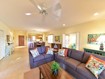 Fantastic 3 bedroom floor plan with a large master suite, vaulted ceilings, a private pool