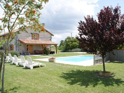 Photo for Holiday home with private pool and golf nearby.