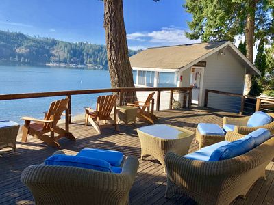 Photo for A Waterfront Beach Home On Hood Canal