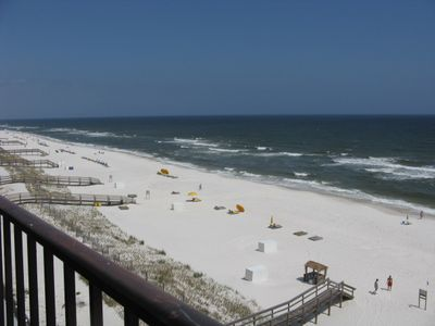 Photo for Great Views from this lovely 2 bedroom Gulf Front