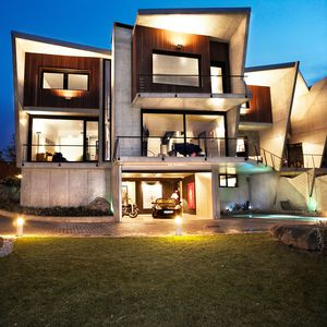 Photo for Luxury villa with sea views and therapeutic architecture