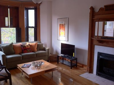 Photo for Beautiful one bedroom apartment w/ den in Historic Stuyvesant Heights!