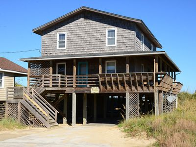 Photo for Oceanfront classic OBX style 5 bedrooms and 4 full baths! - 612