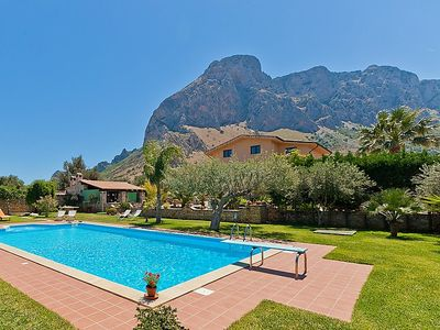 Photo for 5 bedroom Villa, sleeps 10 in Cinisi with Pool, Air Con and WiFi