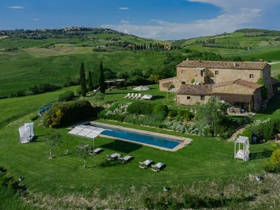 Photo for Podere il Sogno is a luxury property in Tuscany, Val D'Orcia, with private pool and air conditioning