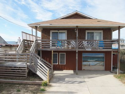 Photo for SEMI-OCEANFRONT WITH 4 BEDROOMS, 2 LIVING AREAS, 2 LAUNDRY ROOMS & A HOT TUB