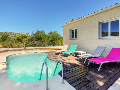 Photo for Lovely Holiday Home in Vallon-Pont-d'Arc near Ardeche River