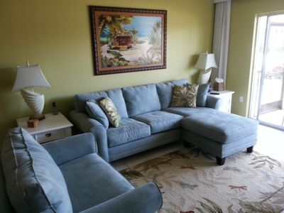 Photo for Beach View, Renovated Ground Floor 2 BR/2 Bath Corner Unit/ Sleeps 6+
