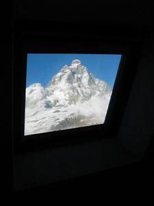 Photo for attic view of the Matterhorn winter and summer skiing
