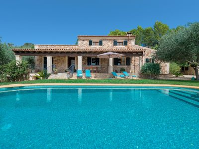 Photo for ES COCONS - Villa with private pool in SINEU.