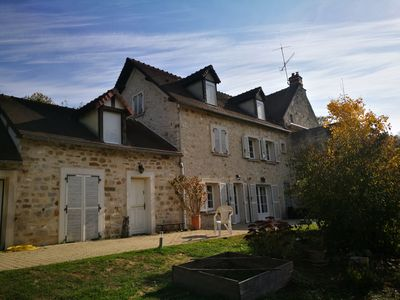 Photo for Beautiful house and large garden 100km from Paris