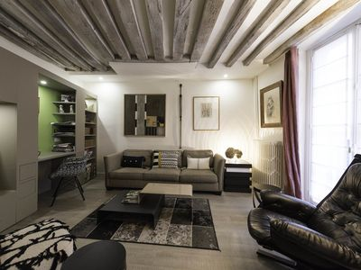 Photo for A beautiful 1 bedroom apartment in the heart of Saint Germain (Veeve)