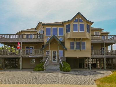 Photo for Castleberry - 7 BR, 7.5 BA, Semi-oceanfront, Private Pool - Southern Shores Realty #433
