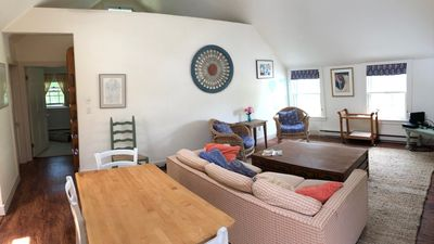 Photo for Beauitiful, large, light-filled 1BR apartment in Nantucket town