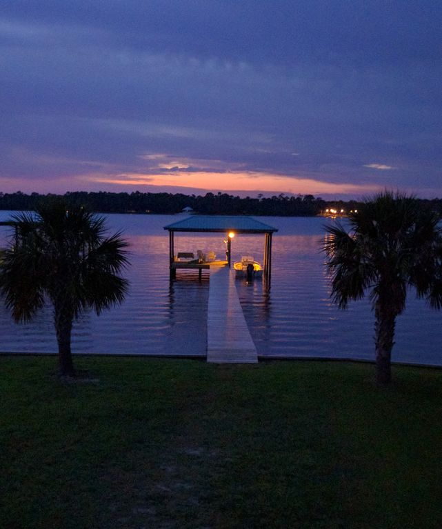 Gulf Shores Beach House Rentals By Owner: Waterfront On Little Lagoon! Family Beach House With