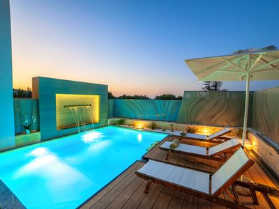 Photo for Perla Nera Villa with Private Heated Swimming Pool