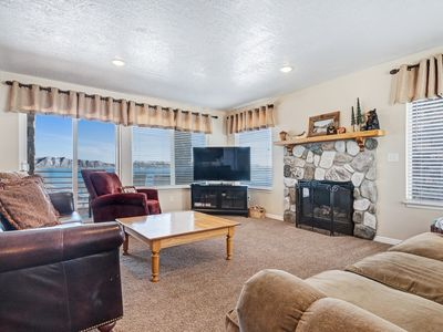 Photo for Spacious home w/ access to a shared pool, hot tub & more-walk to Bear Lake!