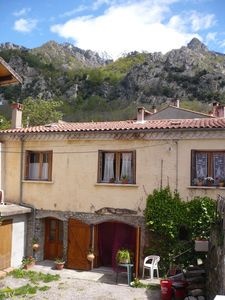 Photo for Appart 40 m2 R C in small village at the foot of Mount Canigou