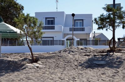 Villa is just a few steps away from the beach...