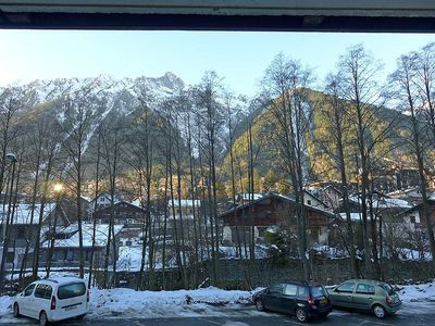 Photo for Apartment 344 m from the center of Chamonix with Lift, Parking, Internet (33115)