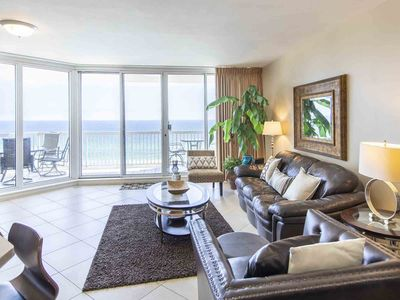 Photo for Updated Beachfront Condo in Sought After Resort. Private Balcony with Incredible Views
